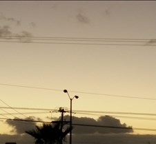 Dark Clouds Dark Clouds Playing Dancing and Having Fun in Sunset near to nightfall