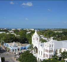 Key West view from the La Concha
