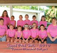 Coach Pitch Girls 2010 - Vermont