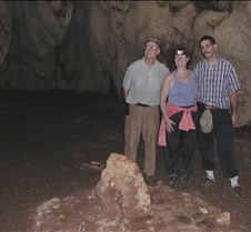 Dan, Jane and John at the cermonial ring