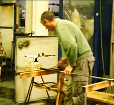 Glass blowing in Waterford
