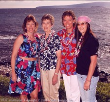 Wailea Marriot Luau - Nohrenberg Family