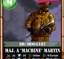 Online Trading Cards Officer cards are major military trading cards required to play the Unit Command Online Trading Card Game. Find different level Officer Trading Cards and Play here http://www.unitcommand.com/Officers.php