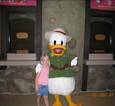 Jaxy with Donald Duck