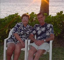 Mom and Dad at Sunset - 2
