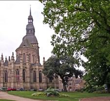 The Romanesque St Saviour's Basilica