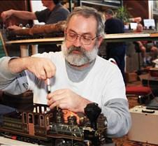 Dave Hottmann Adjusting Accucraft  Loc