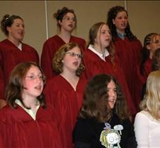 HJHS chorus grads close