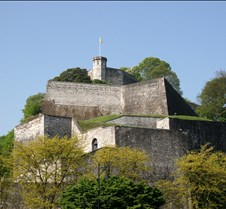 The Citadelle in Namur, Belgium