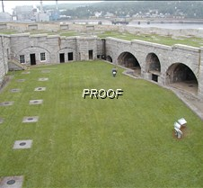 Overview of Ft. Knox inner courtyard