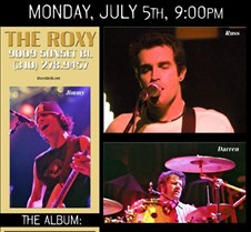 2004-07-05 The Thornbirds @ Hollywood Roxy It was really, really nice to return from a holiday weekend in Vegas (and a couple Atomic Punks shows) to attend this Thornbirds show at the Roxy on Sunset.  The sound was excellent, the lighting was great, and the music set was rocking.  About the only ne
