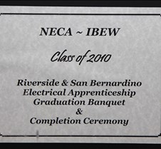 IBEW 2010 PORTRAITES PORTRAITS ONLY:  NECA-IBEW Class of 2010 Riverside & San Bernardino Electrical Apprenticeship Graduation Banquet and Completion Ceremony.  Saturday, June 12, 2010 Hilton Double Tree Hotel, Ontario CA.  