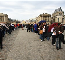 Waiting On Line, Chateau de Versailles