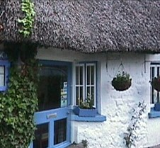 Thatched cottage restaurant, Ireland