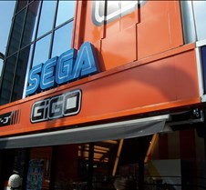 Sega in electronics district.