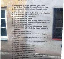 Uzupis Constitution