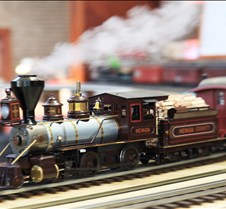 Accucraft's 2-6-0 Live Steam Mogul