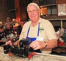 Le Roy Patterson With His Loco