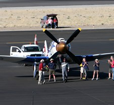 #105 Spirit of Texas  Hawker Sea Fury