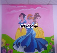 Pintura princesas