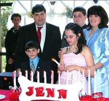 April 2, 2005 Jennifer Bat Mitzvah