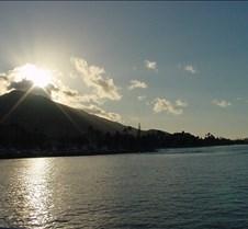 Sunrise over Haleamahina from the West