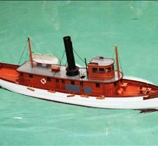Harold Dunsford's Live Steam Boat