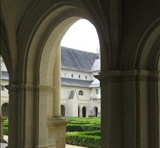 Abbaye le Fontevraud - Cloister Arches -