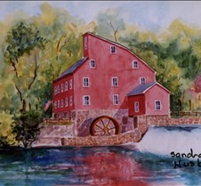Old Mill Clinton NJ - Signed