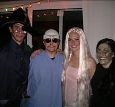 Pirate, Doctor, Barbie, and Amanda