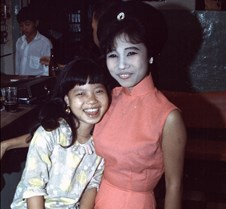 Vietnamese Bar Girl & Daughter