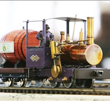 Tom King's Scratch Built Wobbler Loco