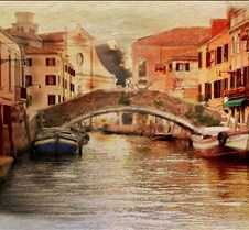 venice late afternoon-watercolor