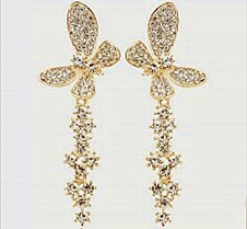 $5.1 free shipping crytal Earring