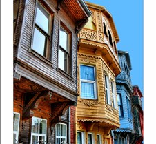 Ancient  Houses Of Istanbul