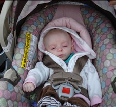 Falling Asleep In Her CarSeat