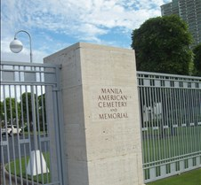 Manila American Cemetery Resting place for 17,000+ American military members who died in WWII in the Asian theatres of war.