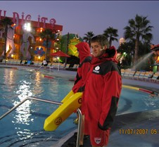 Life Guard in Jacket