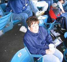 freezing at Yankee stadium