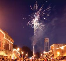 7-8 downtown fireworks