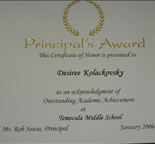 6th Grade Principle Award-DSCN0251_JPG