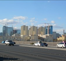 Construction near the Strip