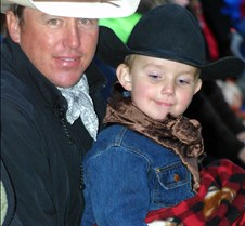 dad & little cowboy