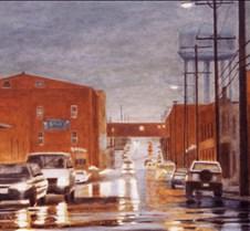 Rain on Carroll Street