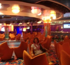 A Lounge aboard the Pride of Hawaii