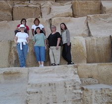Ladies on the Great Pyramid