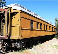 Yellow Railway Coach