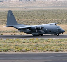 C-130 Hercules taking off
