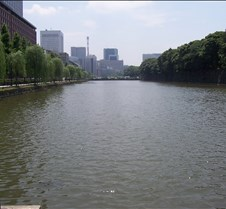 Moat around Imperial palace