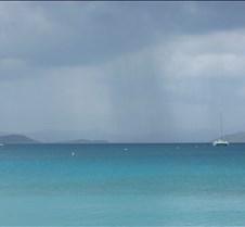 Approaching squal @ Francis Bay, St John